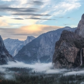Nourse William  2013 - Tunnel View Sunset