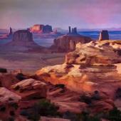 """""""Landscapes"""" – October 2020 – Barbara Mierau-Klein - """"Hunts Mesa"""""""