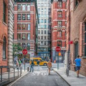 """CityScapes – February 2020 – Jeffrey Friedkin - ""Downtown"""