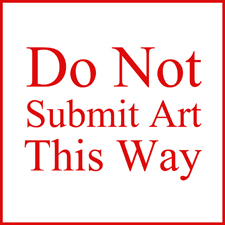 How Not to Submit Your Art to Art Competitions