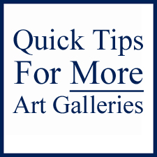QUICK TIPS TO GET INTO MORE ART GALLERIES