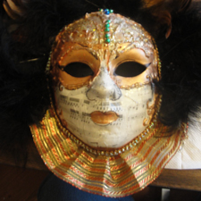 Carolyn Nelson's Mask in Masque Celebrity Arts post image