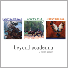 Beyond Academia – Three Person Art Show post image