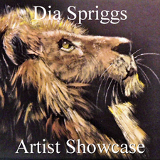 Dia Spriggs - The Artist Showcase Feature