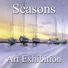 """Seasons"" Art Exhibition – January 2015 post image"