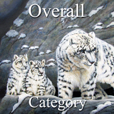 OA- Wallis_225  Nature_300 4 x 4 Snow-Leopard-Protects-Her-Cubs