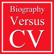 Comparing an Artist's CV with an Artist's Biography