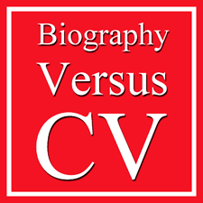 Comparing an Artist's CV with an Artist's Biography