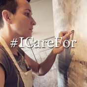 Henriette Roka-Aardal Collaborates for #ICareFor