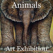 """Animals"" Art Exhibition – June 2017 post image"