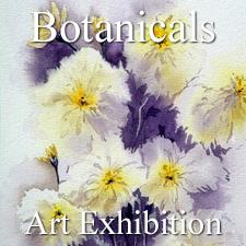 """Botanicals"" Art Exhibition – August 2017 post image"