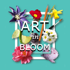 "Clare McGhee's Art is in ""Art in Bloom"" Exhibition post image"