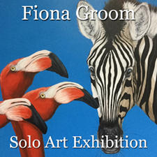 Fiona Groom - Solo Art Exhibition