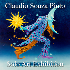 Claudio Souza Pinto - Solo Art Exhibition