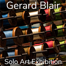 Gerard Blair - Solo Art Exhibition