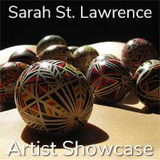 Sarah St. Lawrence - Artist Showcase