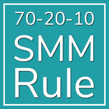 Using the 70-20-10 Rule to Succeed at Social Media Marketing