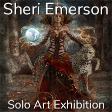 Sheri Emerson – Solo Art Exhibition