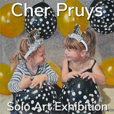 Cher Pruys – Solo Art Exhibition
