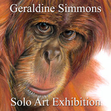 Geraldine Simmons - Solo Art Exhibition