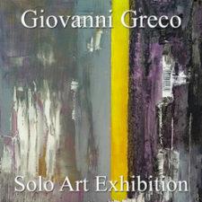 Giovanni Greco - Solo Art Exhibition