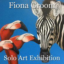 Fiona Groom - Solo Art Exhibition