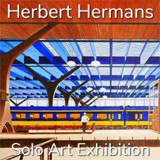 Herbert Hermans - Solo Art Exhibition