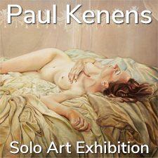 Paul Kenens - Solo Art Exhibition